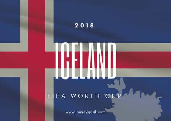 Iceland 2018 FIFA World Cup Banner