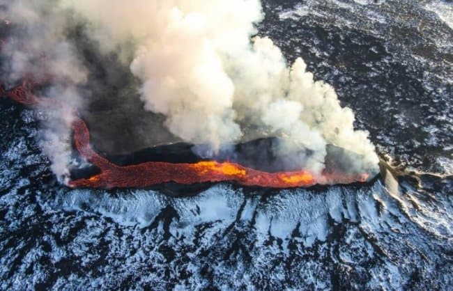 Iceland's volcanoes make it the land of fire and ice