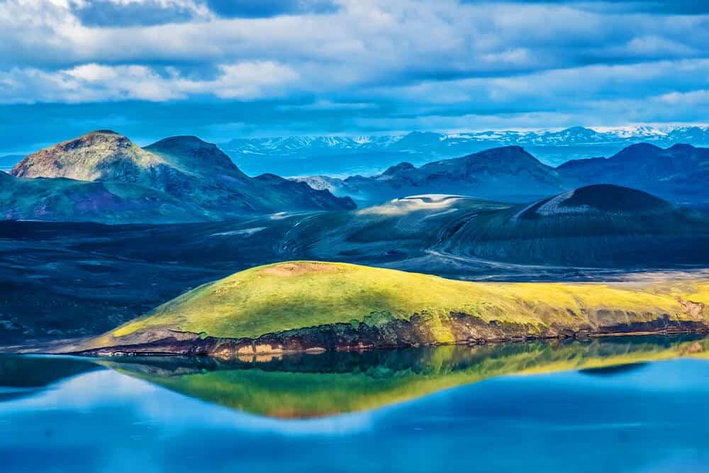 Iceland's highlands by campervan