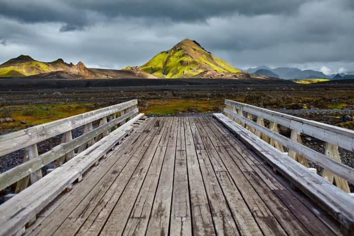 Hiking in Landmannalaugar and Iceland's Laugavegur Trail