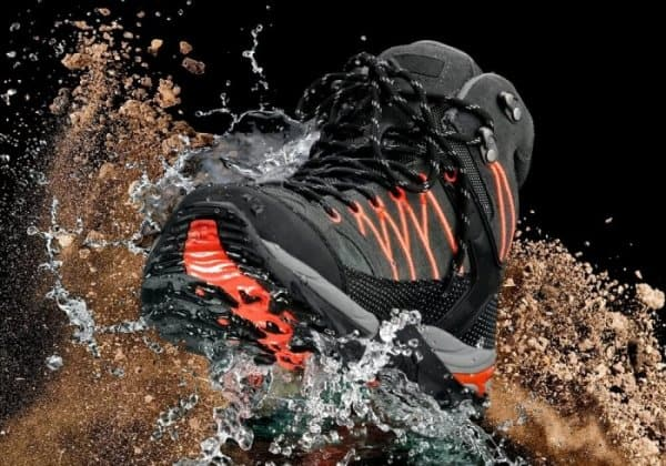 Waterproof shoes like Merrell's are essential on your Iceland packing list