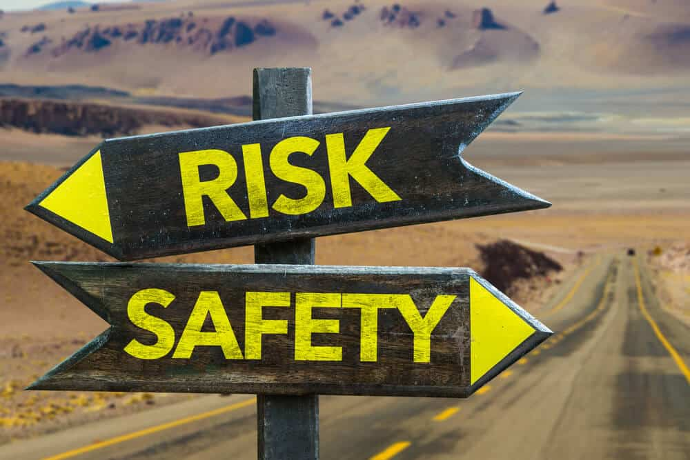 Risk versus safety. It's important to stay safe in Iceland