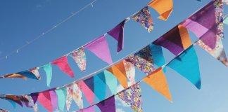 Banners for Iceland's Merchant's Weekend or Verslunarmannahelgi