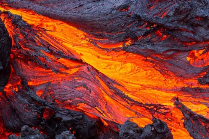 Iceland's volcanoes and lava flows