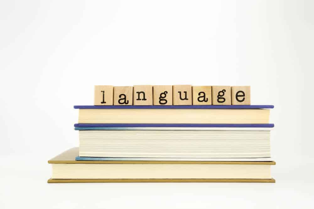 Language letter blocks representing the Icelandic language