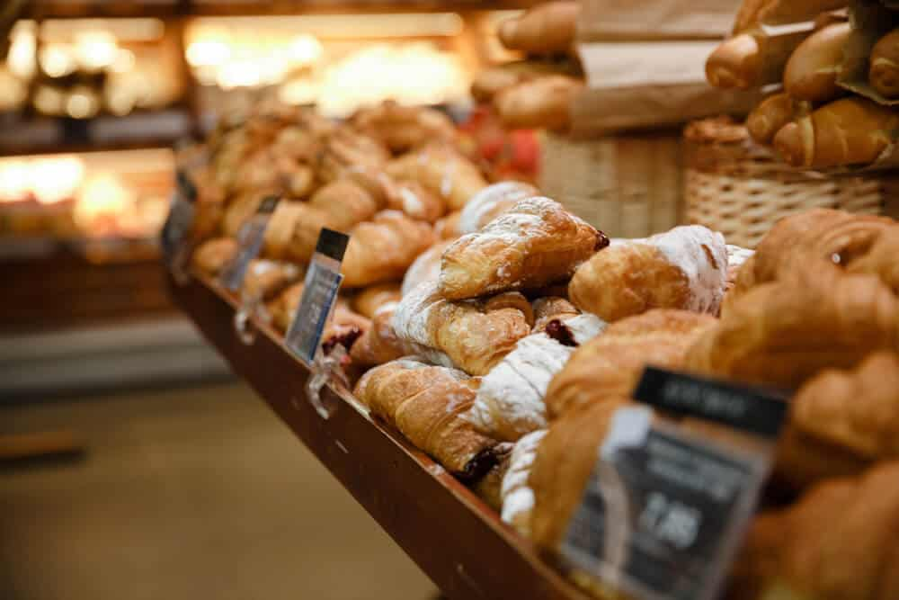A fine selection of delicious baked goods at one of Reykjavik's best bakeries