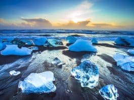 Iceland's Diamond Beach is a hidden treasure