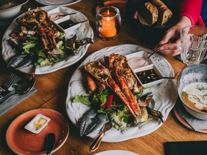 Enjoy seafood at one of Iceland's finest restaurants during a 24-hour stopover in Reykjavik