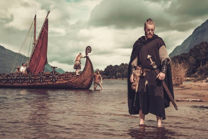 Viking life reenacted at the Viking Saga Museum and the Settlement Exhibition in Reykjavik