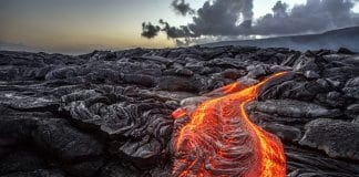 The Dimmuborgir lava fields feature strange and unusual lava rock formations