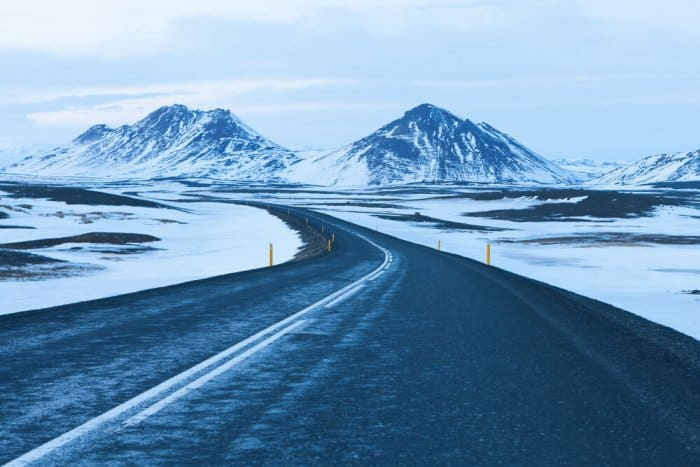 Winter weather increases how long it takes to drive around Iceland's Ring Road