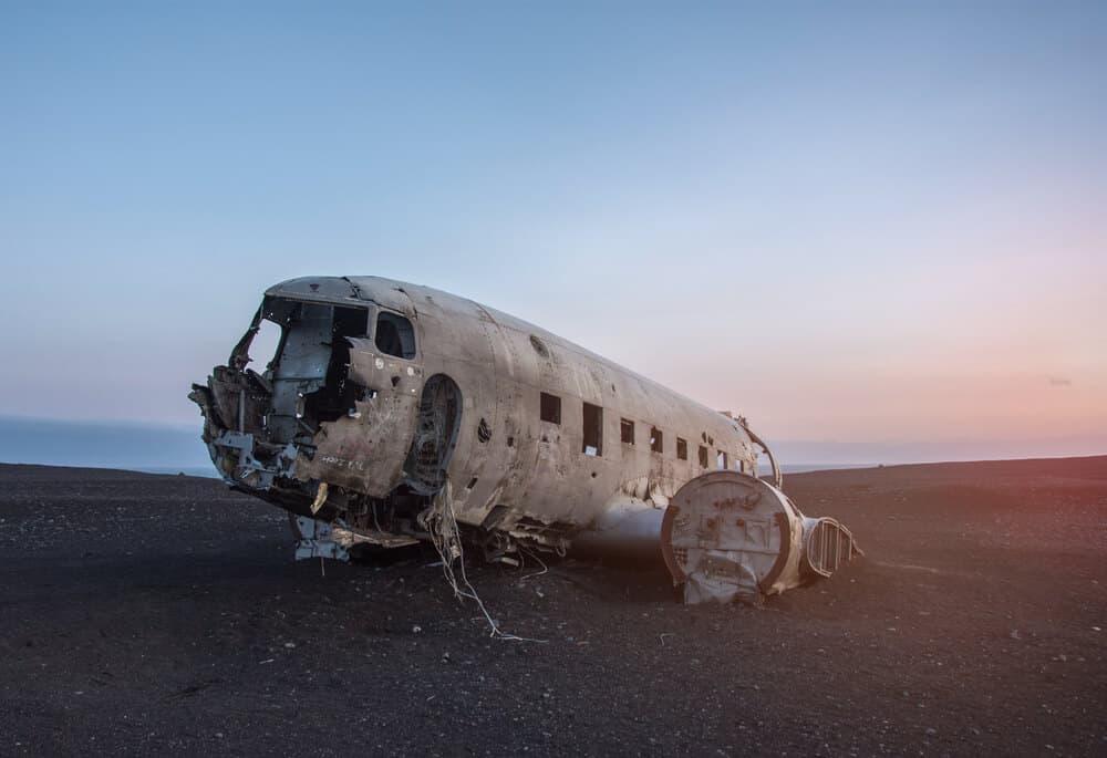 Be sure to visit the Sólheimasandur beach plane wreckage at off-peak hours