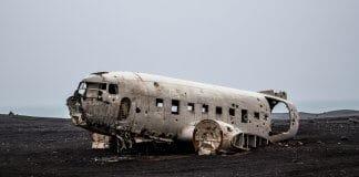 Iceland's iconic Sólheimasandur beach plane crash site