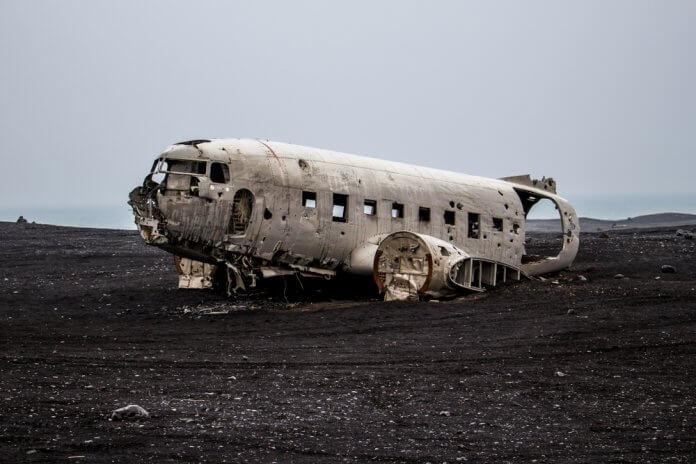 Iceland's iconic Sólheimasandur beach plane crash site
