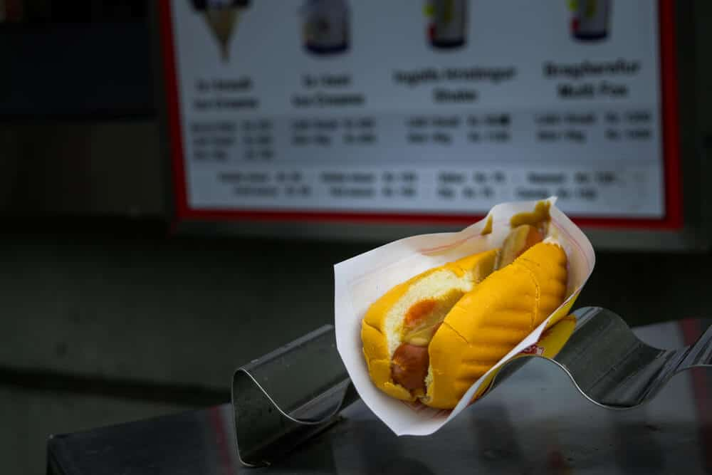 Get one of Iceland's famous hot dogs