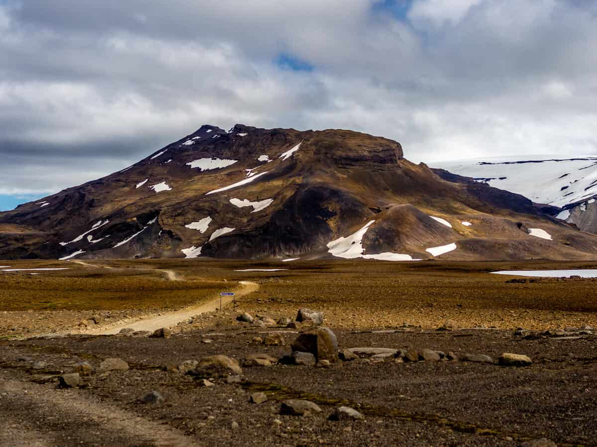 Iceland's Highlands legally require a 4x4 vehicle