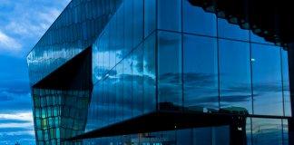Harpa Concert Hall is an iconic Reykjavik landmark