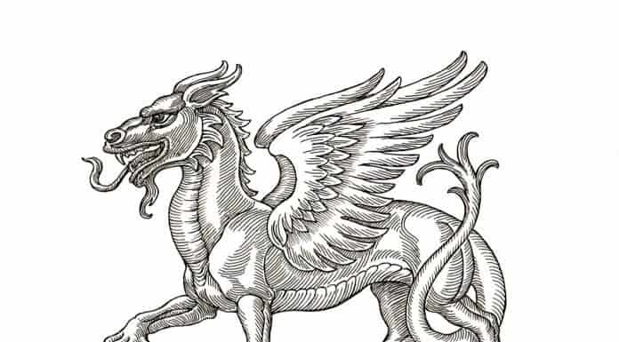 Want to go hunting dragons in Iceland with this medieval drawing?