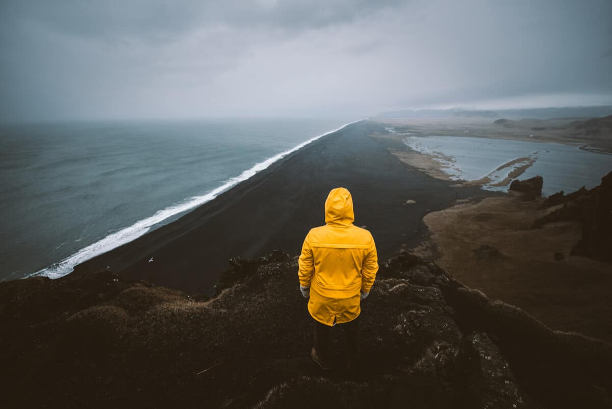 Plan a trip to Iceland and pack your yellow raincoat!