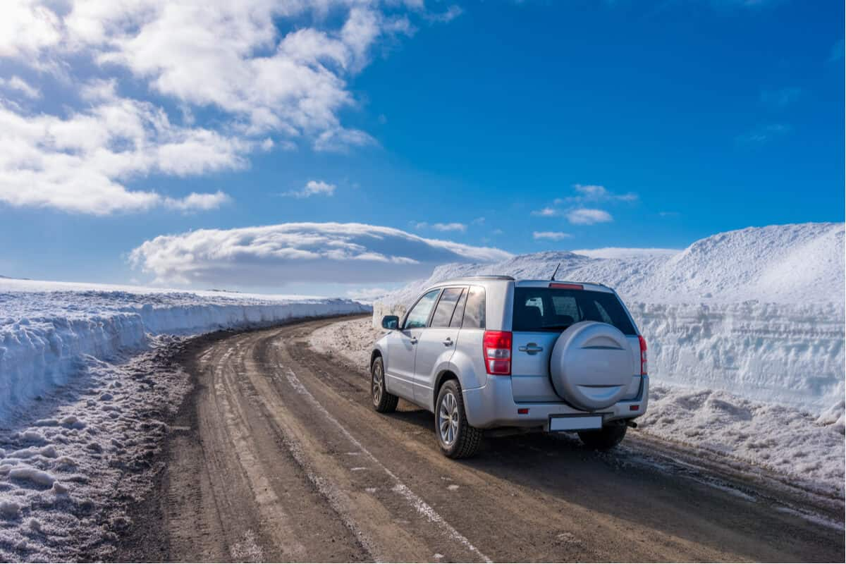 SUVs can be some of the best road trip cars for Iceland