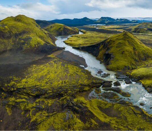 4x4 camper rental in Iceland's Highlands