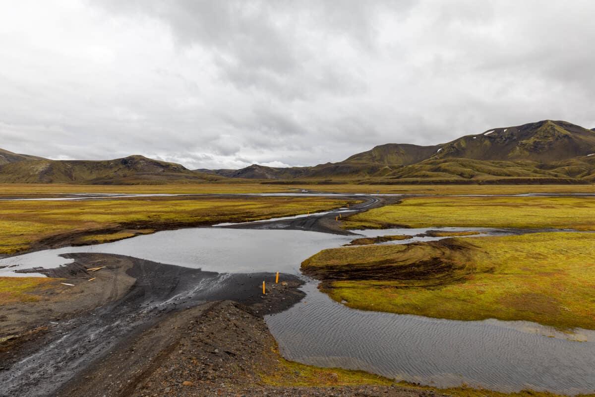 Highland F208 Iceland river crossing