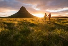 Iceland honeymoon couple Snaefellsnes Peninsula