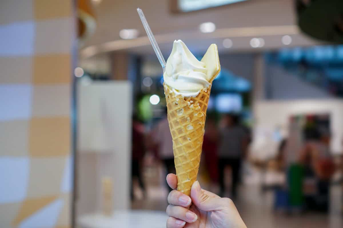 Iceland ice cream soft serve