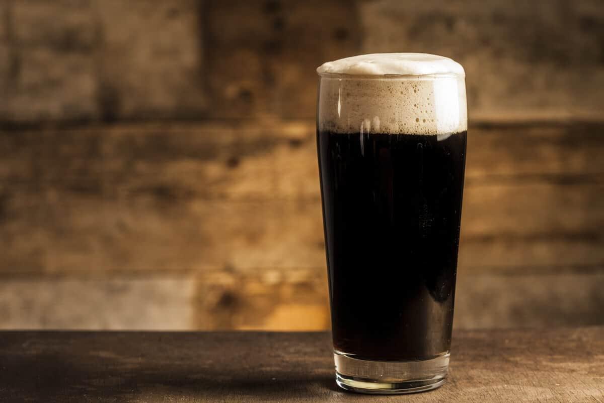 Lava is a black Icelandic beer