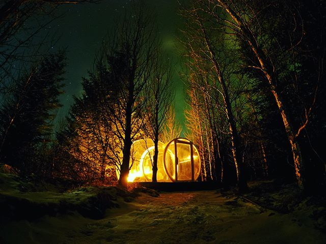 The bubble Iceland igloo hotel