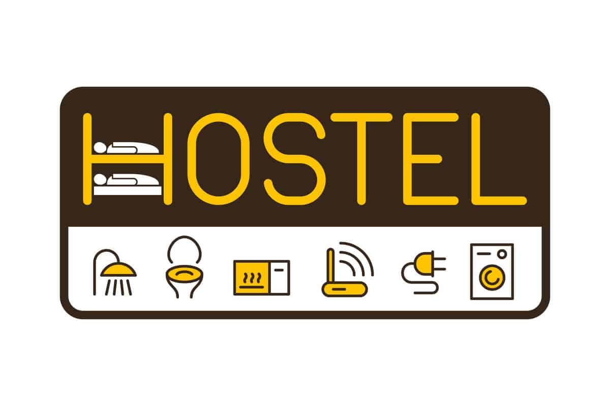 Top ten hostels in Iceland sign