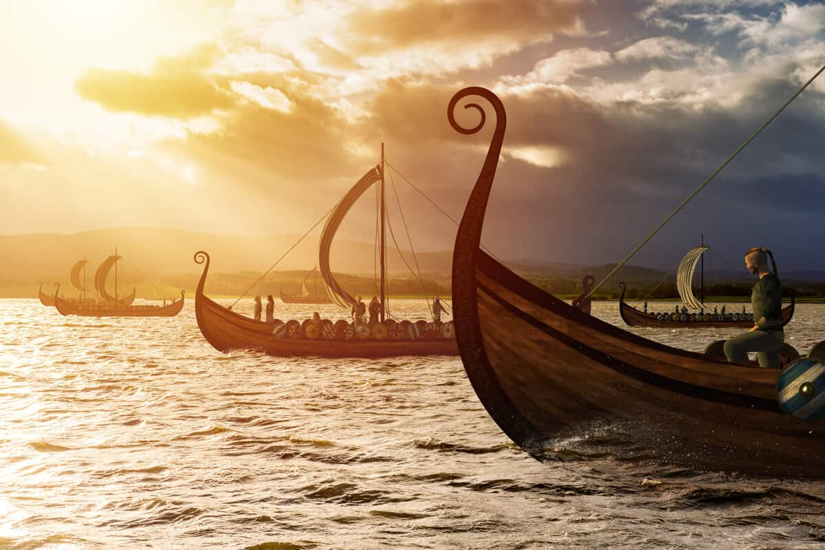 Islendigur viking ship fleet