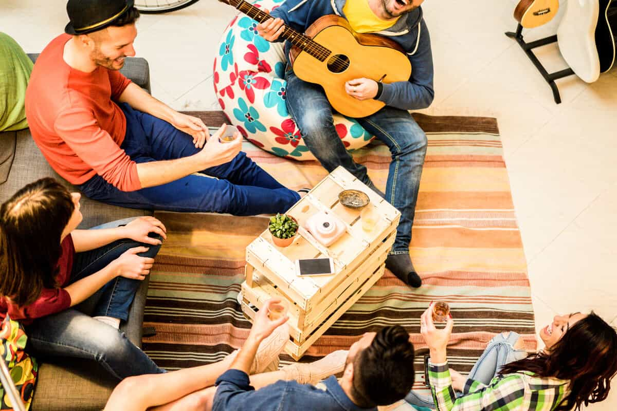 The top 10 hostels in Iceland have lots of young travelers