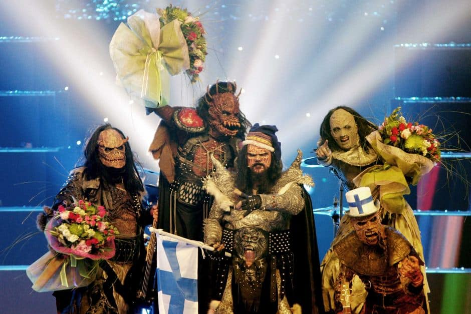 Lordi, an eccentric finnish band that won in Eurovision