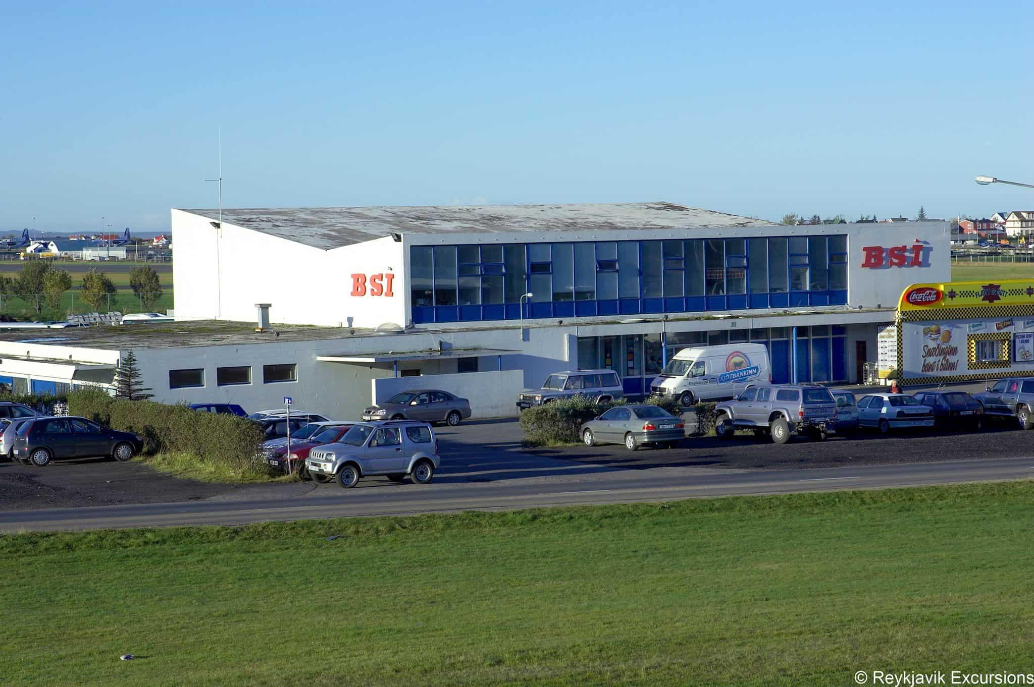 BSI Bus Terminal in Reykjavik