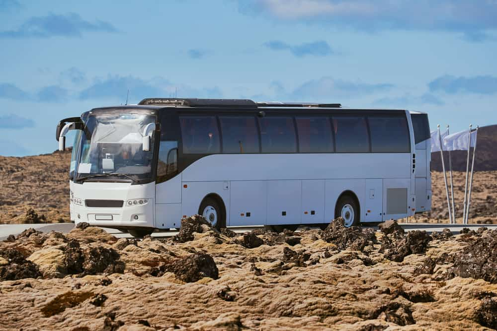 Bus services in Iceland